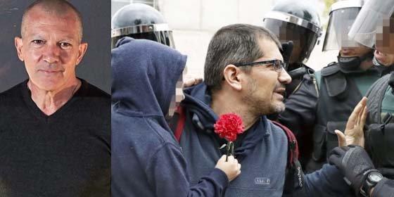 Antonio Banderas saca de su error al impertinente reportero de 'The Guardian' que le quiso arrinconar con los supuestos 900 heridos del 1-O