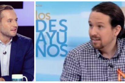 """El 'descojonante' corte que le mete Basteiro a Iglesias: """"No es la primera vez que usas mis tuits para señalarme"""""""