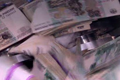 ¿Sabes por qué el Banco Central ruso ha destruido dos toneladas de billetes?