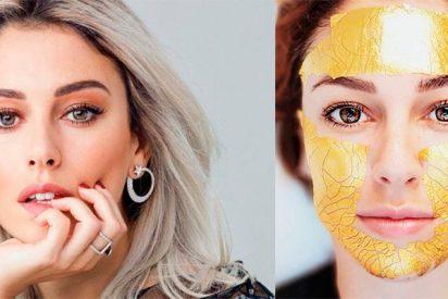 Blanca Suárez usa la misma mascarilla de oro que las 'top models' del momento