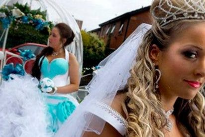 """Estas son las imágenes inéditas de la que fue la boda gitana """"del siglo"""""""