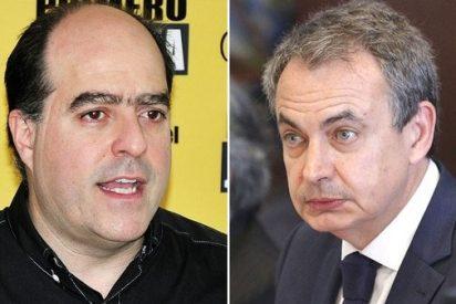El demoledor mensaje de la encabritada oposición venezolana a Zapatero por mamporrero