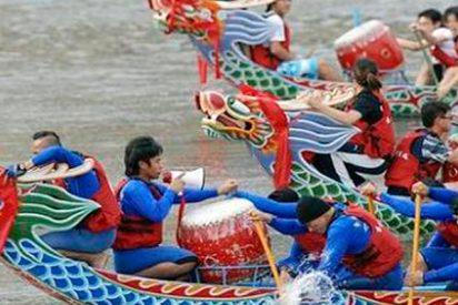 17 personas mueren tras hundirse dos botes dragón en China