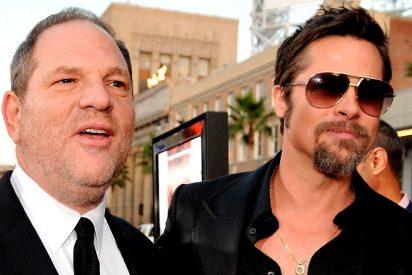 Brad Pitt producirá una película sobre el polémico escándalo de Harvey Weinstein