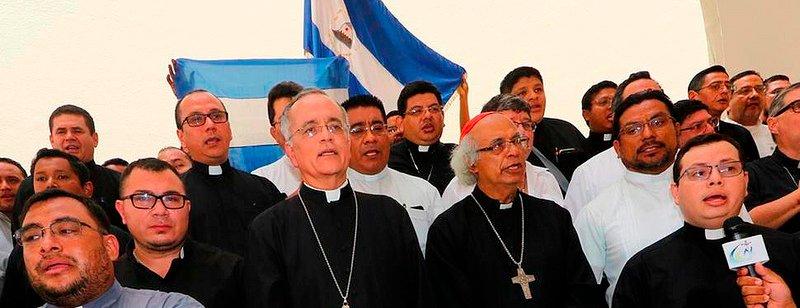 """La Iglesia mediará entre el régimen de Ortega y la sociedad civil """"para democratizar Nicaragua"""""""