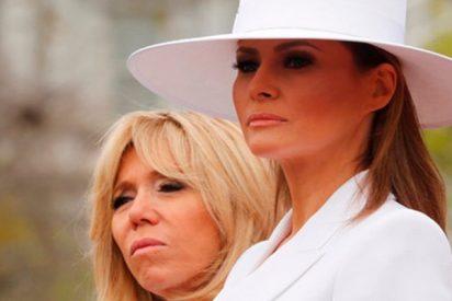 Brigitte Macron desvela los trapos sucios de la vida de Melania Trump en la Casa Blanca