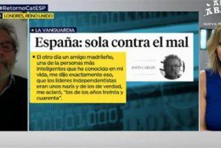 El amigo de Otegi (aka John Carlin) dice que en Cataluña no hay kale borroka...