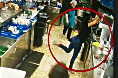 Una camarera gallega con mejor toque de tacón que Cristiano o Messi