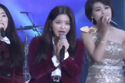 Por primera vez cantantes de las dos Coreas unen sus voces para entonar la canción favorita de Kim Jong-il