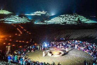 """¿Sabías que las pirámides más antiguas que Egipto están en la """"Ciudad Sagrada de Caral"""", Lima?"""