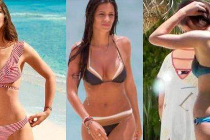 El culo retocado de Sara Carbonero cabrea a las redes en plena polémica por las tallas