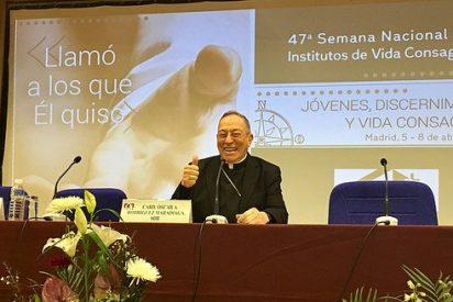 """Maradiaga le canta al Papa: """"La alegría del Evangelio nos invita a la misión y, con el Papa Francisco, misericordia y bendición"""""""