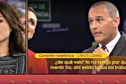 """Carlos Lozano carga con furia contra los frikies de 'Sálvame': """"¿¡Pero de qué váis!?"""""""