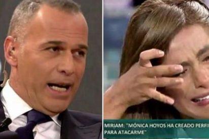 Que no nos engañen: lo de Carlos Lozano y Miriam Saavedra es un embuste barato de 'Sálvame'