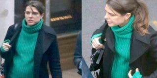 Carlota de Mónaco está embarazada de su segundo hijo