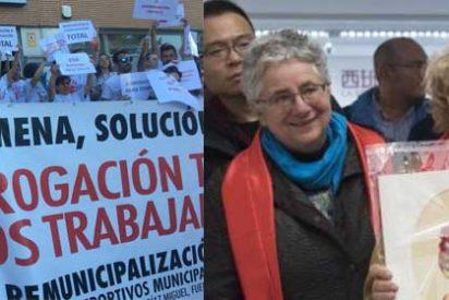 """Los afectados por las remunicipalizaciones de Carmena estallan contra Ahora Madrid: """"Así que este es el 'partido del pueblo'"""""""