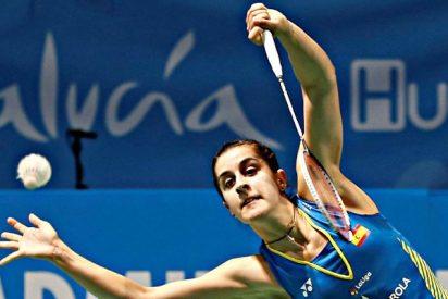 Carolina Marín, campeona de Europa de bádminton por cuarta vez consecutiva