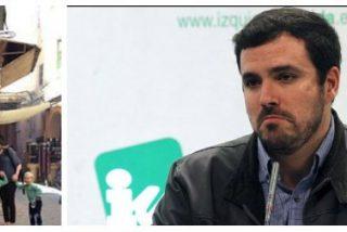 Alberto Garzón saca sus garras totalitarias contra el periodista Carvajal por publicar la liquidación de IU