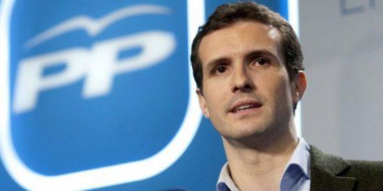 La Universidad Rey Juan Carlos investiga el máster de Pablo Casado y él se defiende panza arriba