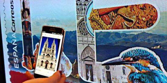 Correos confunde en un sello la catedral de León con la de Burgos