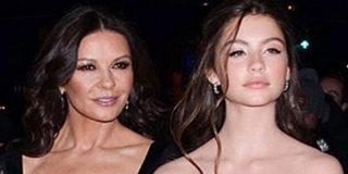 El asombroso parecido de la hija de Catherine Zeta-Jones con su madre