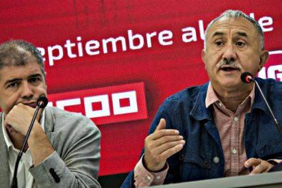 Cataluña: UGT y CCOO son sólo dos títeres del separatismo
