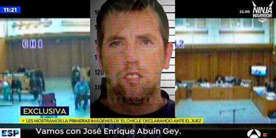 Filtran estas indignantes imágenes de El Chicle, asesino de Diana Quer, vacilando al juez