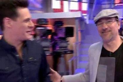 Christian Gálvez se lleva a su padre a la tele