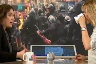 Agárrense: para la sectaria Ada Colau los CDR son jovencitos pacíficos y Griso se queda tan pancha