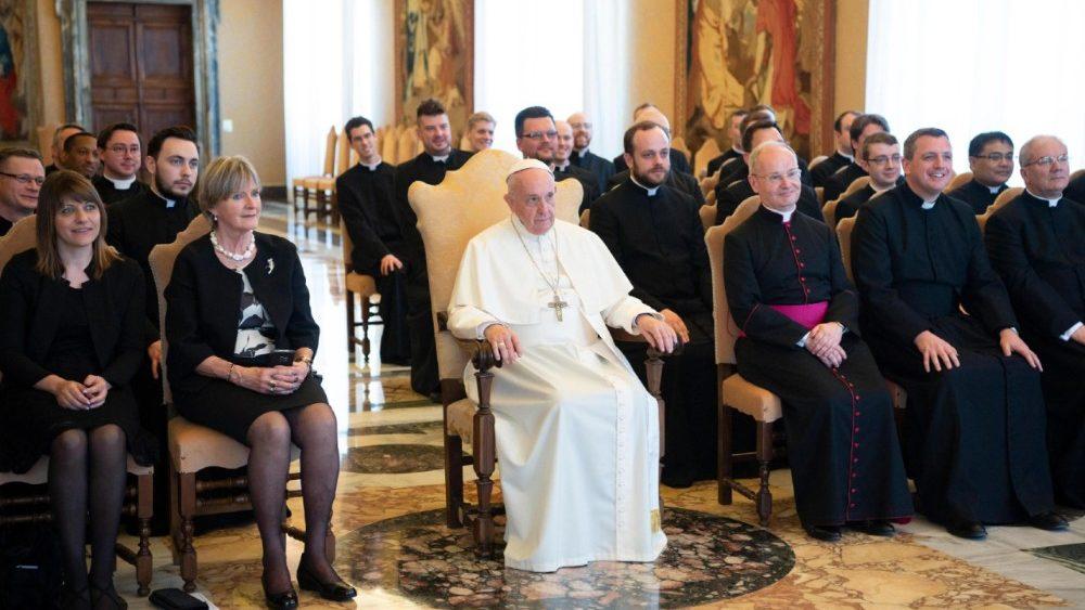"""El Papa, al Colegio Inglés de Roma: """"Cultiven la amistad"""""""