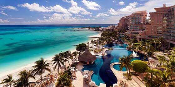 Hoteles lujosos en Cancún: Grand Fiesta Americana Coral Beach