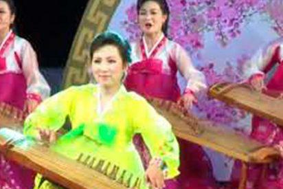 Así inaugura Corea del Norte el Festival de Arte de la Primavera de Abril