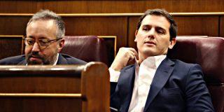 Rivera saca pecho y de paso da un sopapo a Sánchez e Iglesias que se escucha en toda España