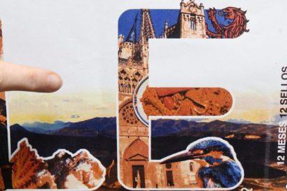 Presentan un sello de la Catedral de León en la que aparece la Catedral de Burgos