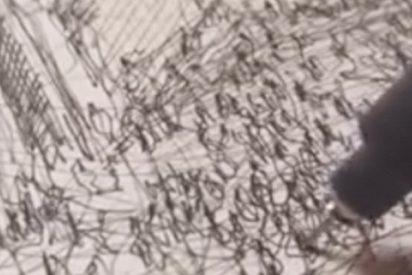 Este dibujante lo peta en las redes con sus vídeos en tiempo real