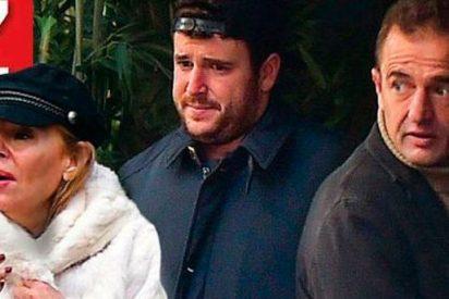 Ana Obregón y Alesandro Lequio, muy preocupados por la salud de su hijo Álex