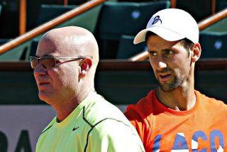 Agassi rompe con Djokovic y deja de ser su entrenador, porque no se ponen de acuerdo en nada