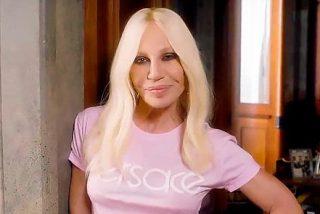 Donatella Versace revela que famosa le dio consuelo cuando asesinaron a su hermano Gianni Versace
