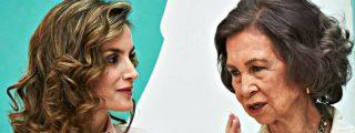 """Leyendo los labios de Sofía y Letizia: """"Déjalo, por favor"""""""