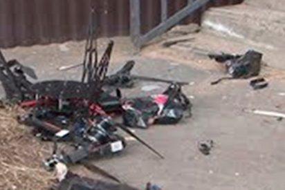 El ridículo del servicio ruso de correos en su primera entrega con dron
