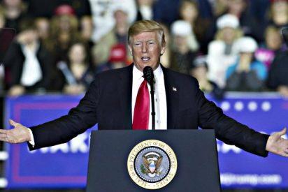 """Donald Trump da por 'muerta' la cena de corresponsales y la tacha de """"vergüenza"""""""