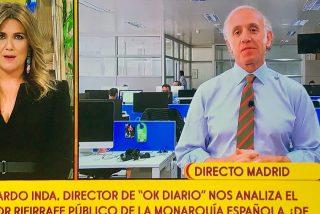 Lo que faltaba: Eduardo Inda ahora también analista político en 'Sálvame'