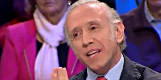 """Eduardo Inda: """"Habría que medir por el mismo rasero que a Cifuentes a Iglesias, Errejón y Echenique"""""""