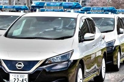 La policía de Japón estrena coches eléctricos para que los ladrones no les oigan llegar