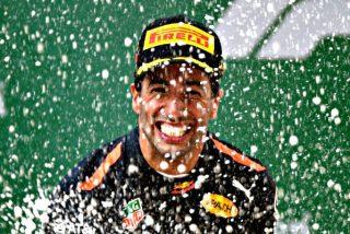 Fórmula 1: Ricciardo se impone por sorpresa en China; Alonso termina séptimo