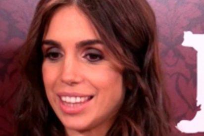 Elena Furiase presume de embarazo en el Festival de Málaga
