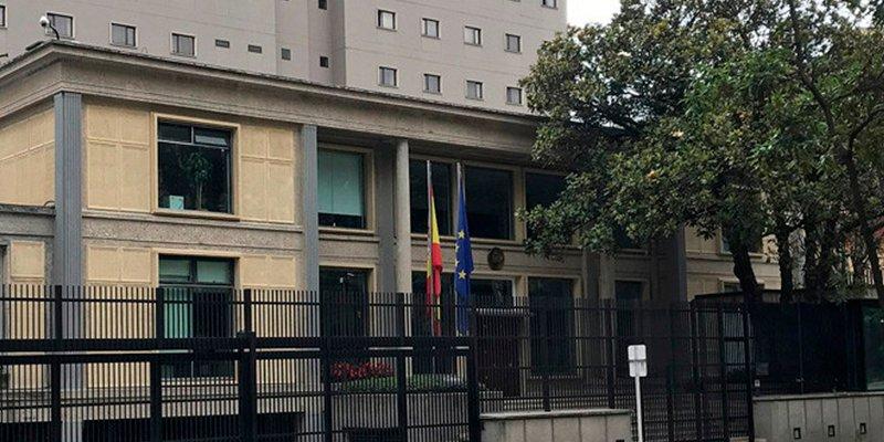 El cónsul de España en Bogotá pudo haberse dado a la fuga tras un accidente en el que falleció un motorista