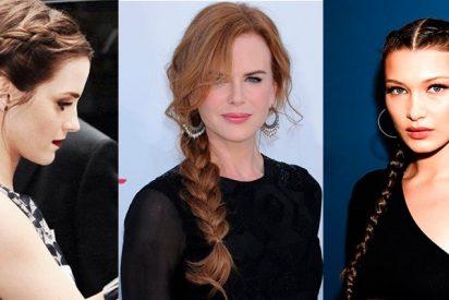 Looks más frescos :Las trenzas que marcan tendencia entre las celebrities