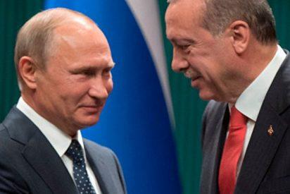 Erdogan y Putin se reúnen en Turquía