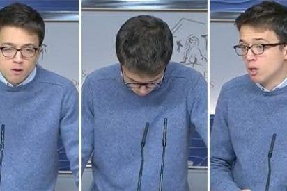Errejón se porta como un imberbe becario en Twitter y acaba licenciado a cuchilladas